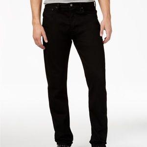Levis 501 Original Fit Black Jeans Bottoms Pants